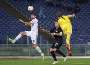 For anden gang i denne sæson var Frederik Rønnow på mål for Eintracht Frankfurt i Europa League.