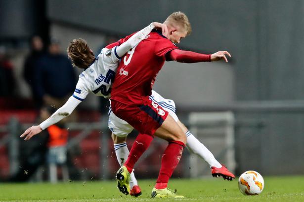 Både Andreas Cornelius og Lukas Lerager startede inde for Bordeaux. Lerager spillede en okay kamp på banens midte, mens Cornelius blev taget ud efter en times spil.
