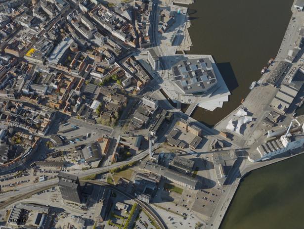 Åen skærer sig gennem området i Aarhus med flest barer.
