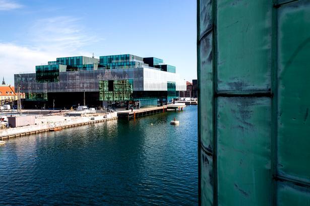 Tegnestuen OMA's Blox på Bryghusgrunden i København. Bygherre var Realdania.