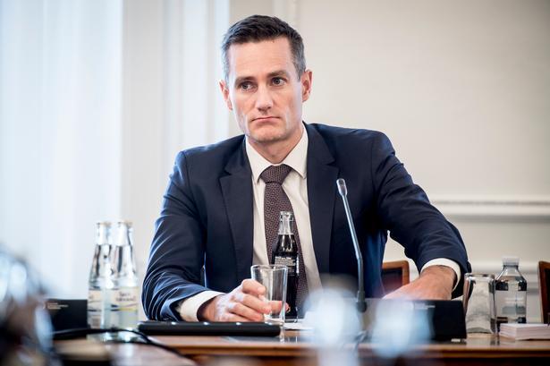 Erhvervsminister Rasmus Jarlov (K).