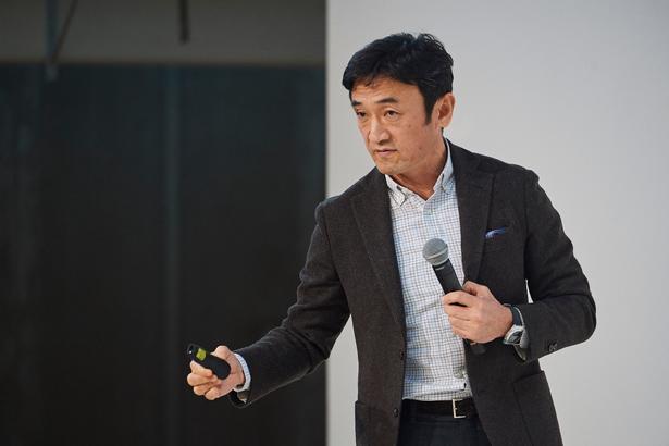 Udviklingschef Yuki Katsuta arbejder efter en 'minus-filosofi': hellere trække fra end fylde på.