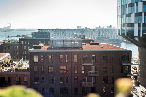 Der er for få almene boliger i Nordhavn, København, mener Mia Manghezi.