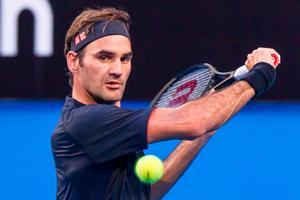 Forleden sagde Roger Federer, at han håber på endnu en mirakuløs sæson på højeste niveau. Og han er startet godt i australske Perth. Som sædvanlig.