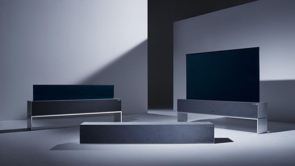 Dejlig I 2019 bliver dit tv til et omvendt rullegardin eller et nyt tapet HC-28