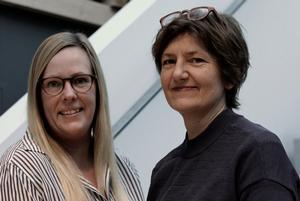 Mette Baarup (tv.) og Heidi Hjort Thuesen er to af Arkitemas nye partnere.