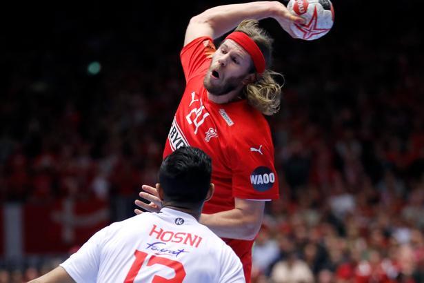 VM i håndbold: Danmark - Tunesien. Mikkel Hansen.