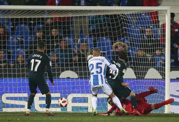 I sin tredje kamp for Leganes fik Martin Braithwaite scoret sit første mål i spansk fodbold.