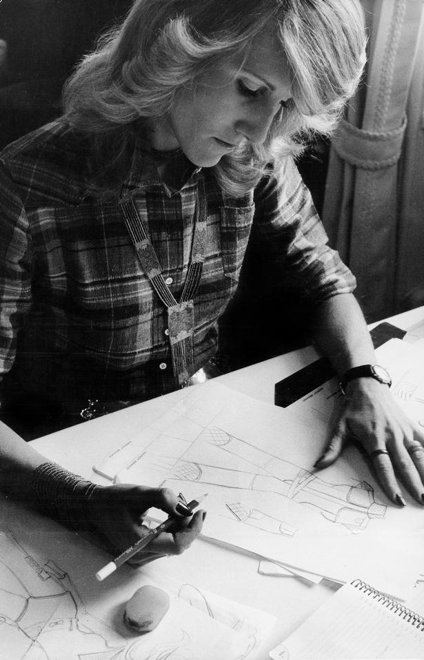 Margit Brandt havde øje for detaljerne, og to gange designede hun dragterne til de danske OL-deltagere