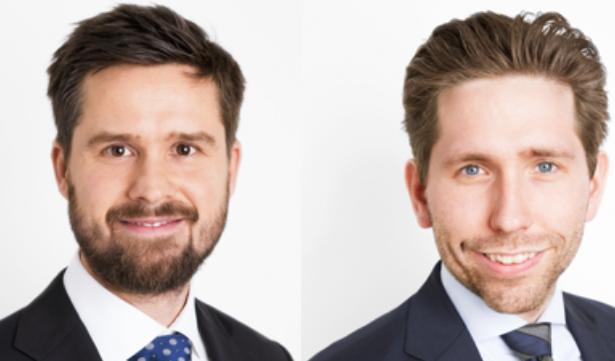 Rune Højby Kock (tv.) og Toke Clausen.