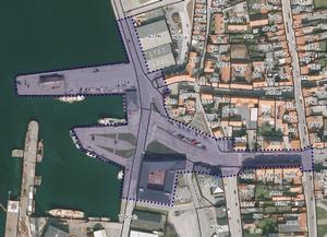 Dette er den planlagte afgrænsning af en arkitektkonkurrence, som ventes gennemført.