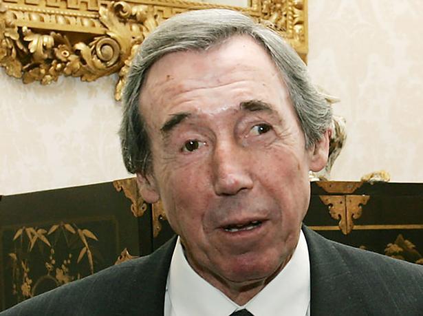 Gordon Banks var flittig til at møde frem, når den engelske VM-triumf fra 1966 skulle markeres. Her ses han i Downing Street i 2006, da 40 års-jubilæet blev mindet