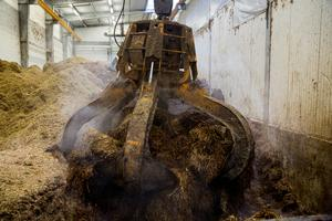 billeder fra et biogasanlæg:  NGF (Nature Energy Fyn)