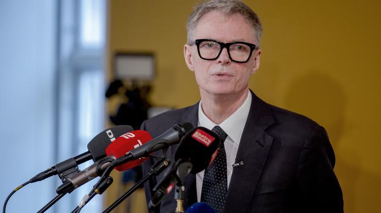 Klaus Riskær Pedersen inviterede i tirsdags til pressemøde, hvor han fortalte om sit partis planer.