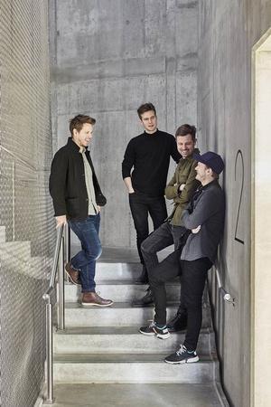 De fire partner. Fra venstre til højre: Anders Lonka, Simon Poulsen, Martin Krogh og Martin Laursen.