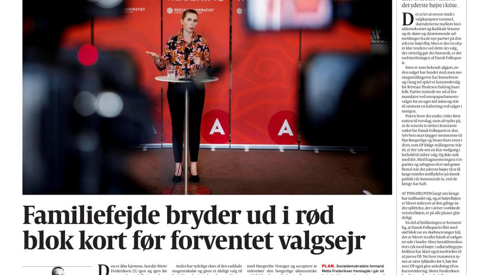 ce74cfb3 Forside E-avis 4. juni 2019 - politiken.dk