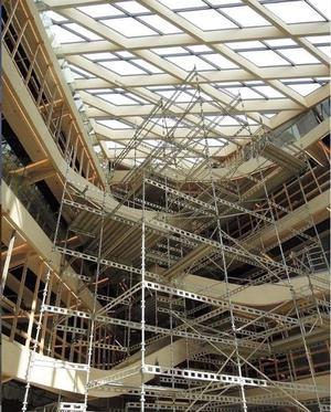Helen & Hards trækonstruktioner, der blev præsenteret på Build in Wood.