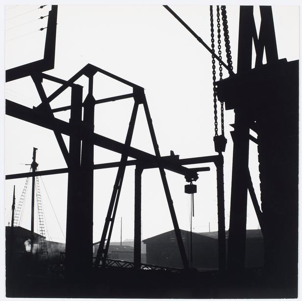 Keld Helmer-Petersen: Sydhavnen, 1960'erne © Estate of Keld Helmer-Petersen