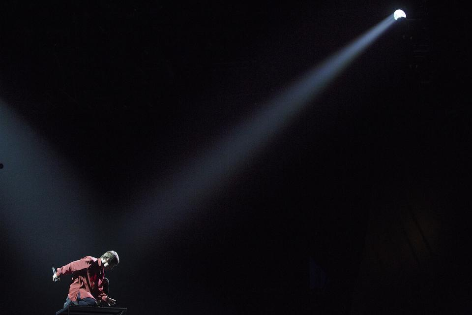 Christine and the Queens, Arena, onsdag. Foto: Thomas Borberg