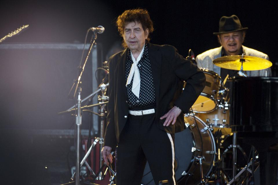 Bob Dylan, Orange, onsdag. Foto: Thomas Borberg