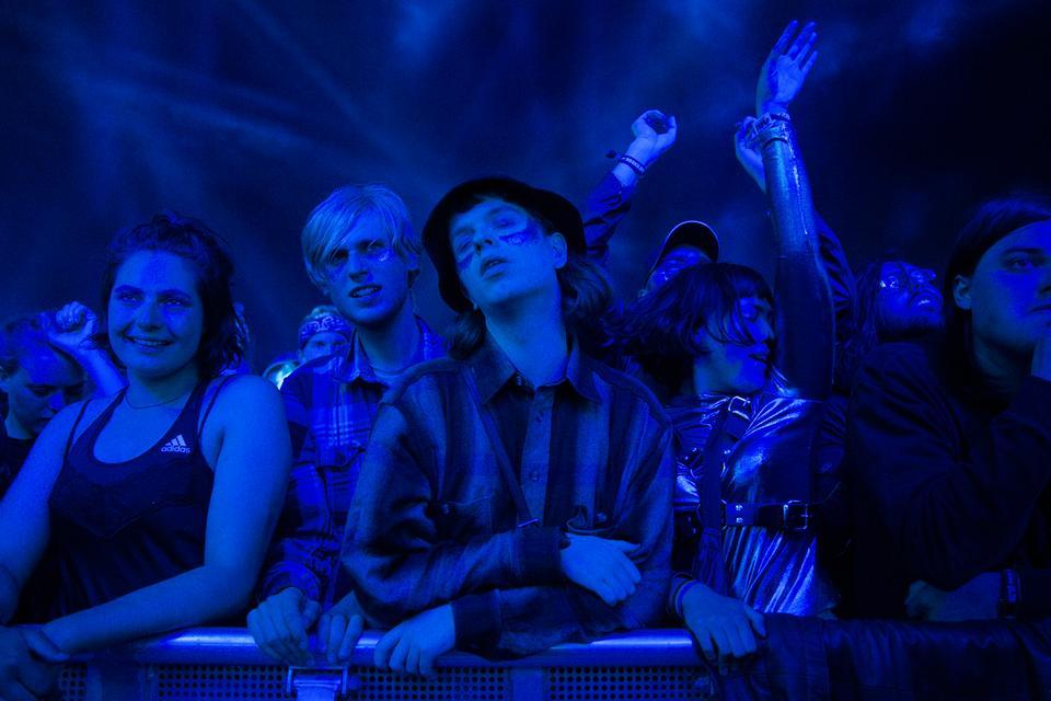 På forreste række til Sophie-koncerten, Apollo, fredag. Foto: Emma Sejersen