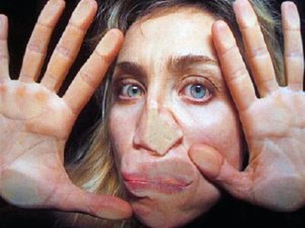 Pipilotti Rist. Foto fra udstillingen 'Åbn min lysning' på Louisiana.