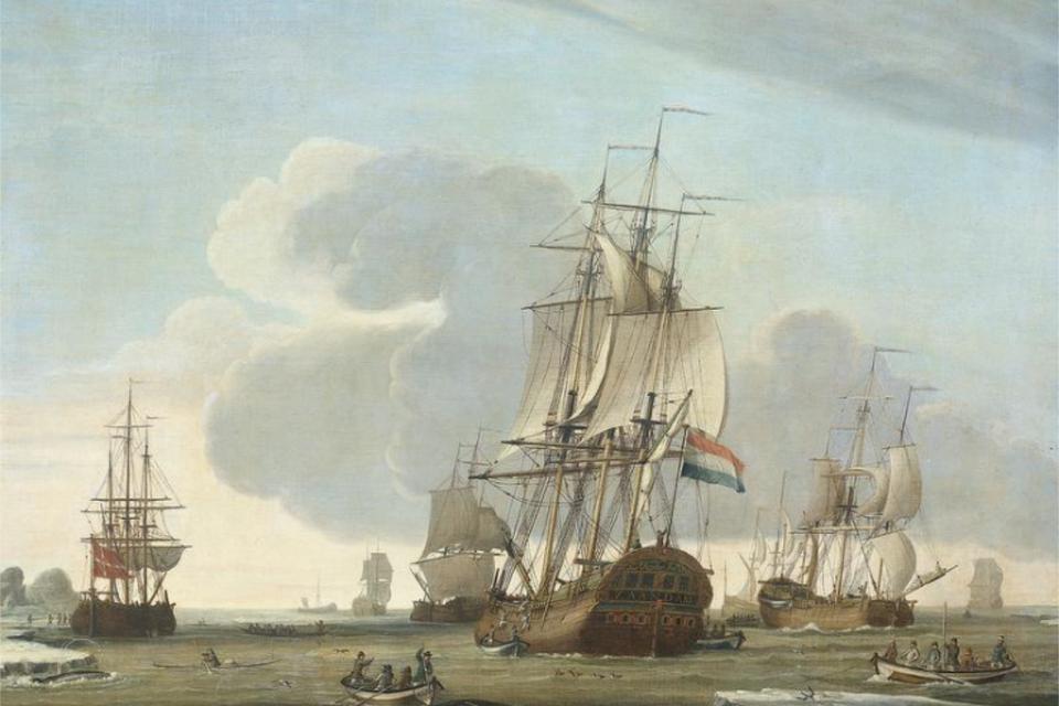 'Grønlandsfareren Zandaam'. 1772. Rijksmuseum