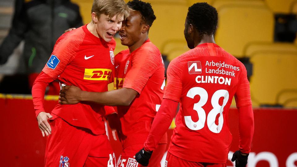 Seks forskellige målscorere giver FC Nordsjælland sæsonens...