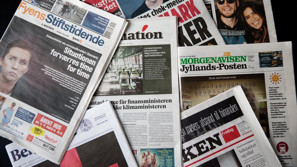 Danske Medier: Hjælpepakke holder hånden under en branche i...