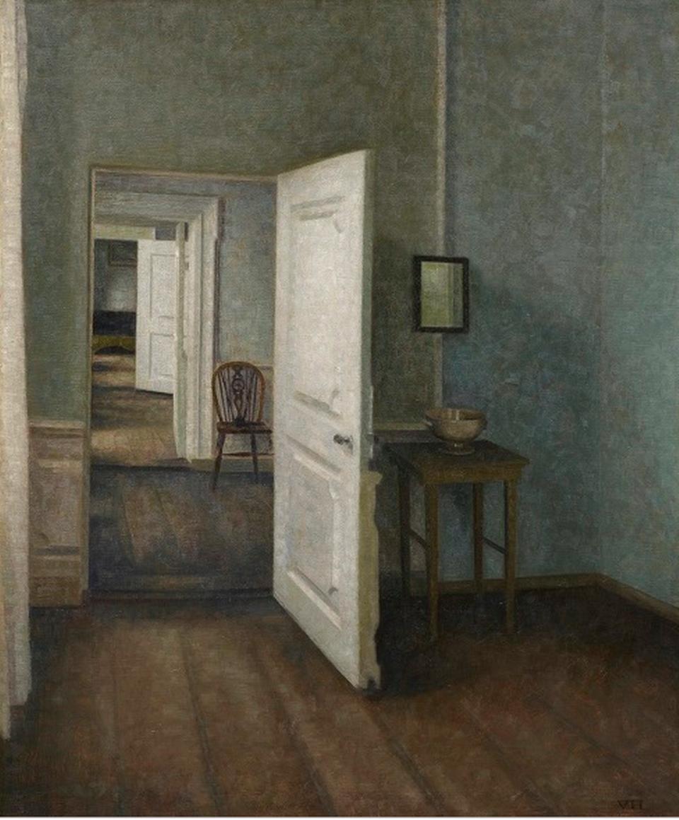 Vilhelm Hammershøi, Interiør.