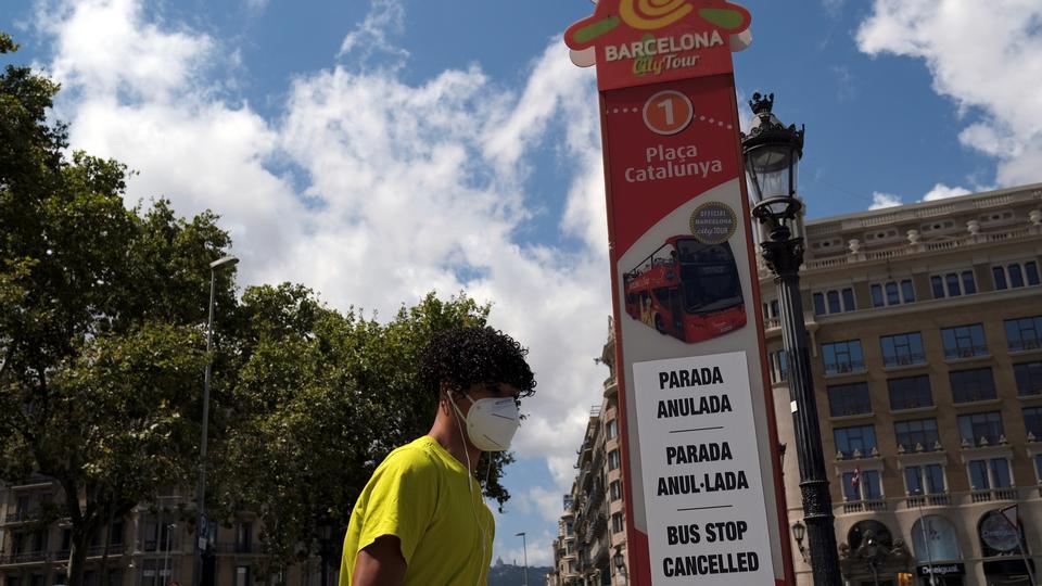Spanien har største stigning i coronasmitte siden genåbning