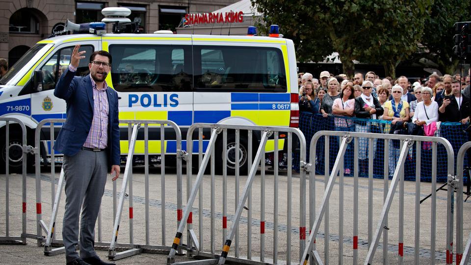 Søren Pape: Glædeligt, at Jimmie Åkesson ikke længere er...