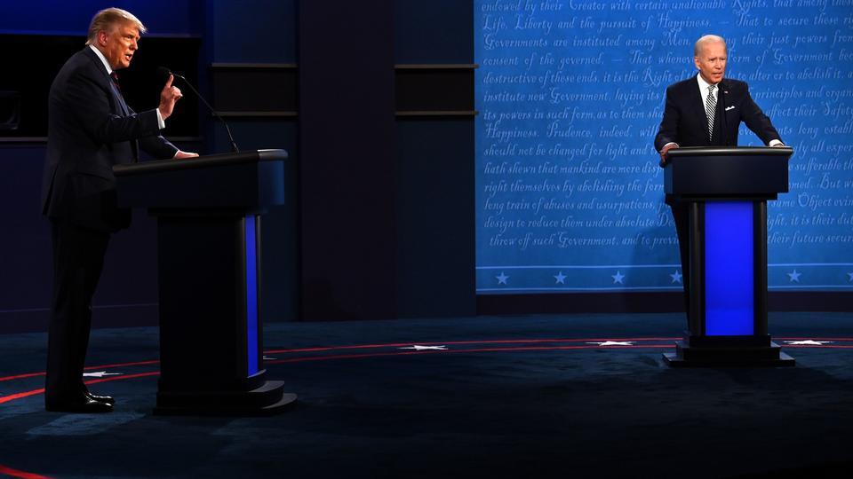 Tv-debat i nat blev kaotisk og fyldt med...