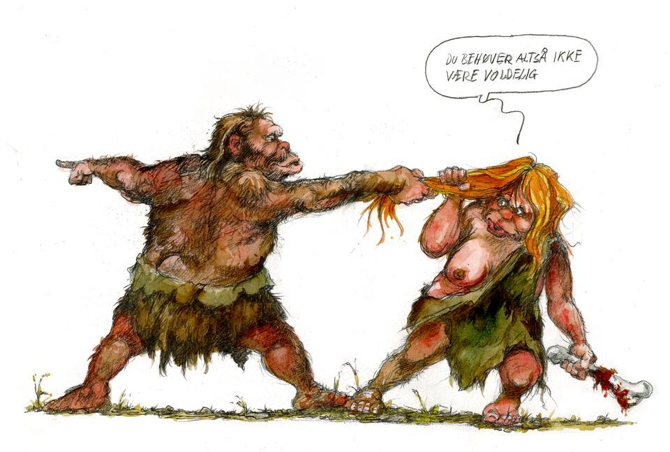 Ny forskning: Kvinder lod sig også forføre af neandertalere