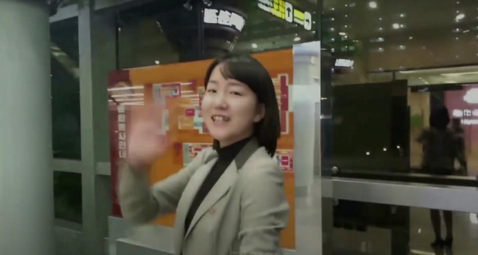 Hun skal overbevise Vesten om, at Nordkorea er et helt almindeligt land