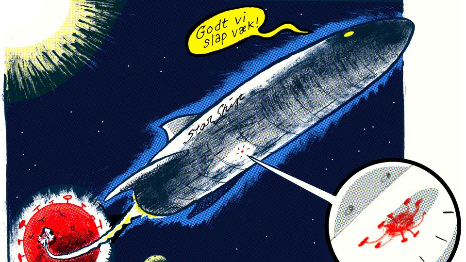 Dagens tegning: Reality Sci-Fi
