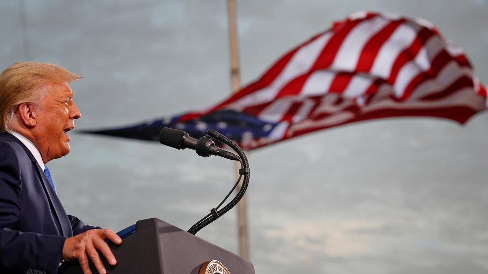 Trump stopper som præsident med laveste opbakning hidtil