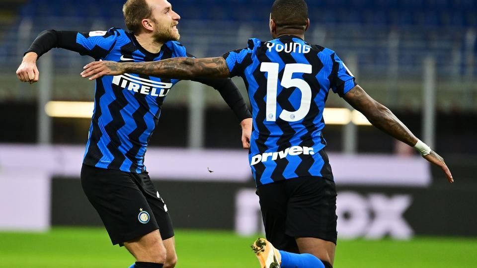 Christian Eriksen sender Inter i pokalsemifinale med frisparksmål...
