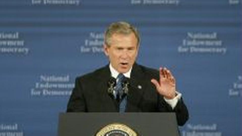Bush kraver stod for krig