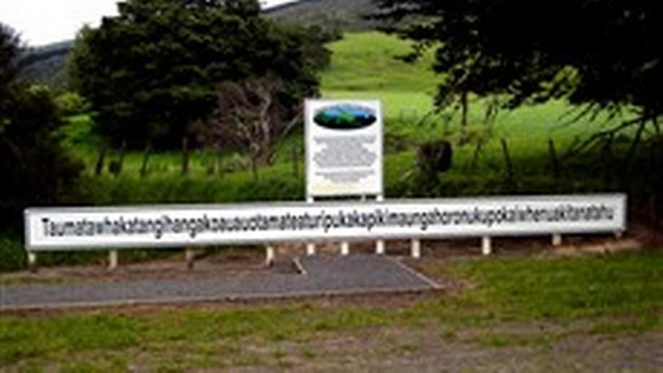 Verdens længste bynavn tilhører New Zealand - politiken.dk