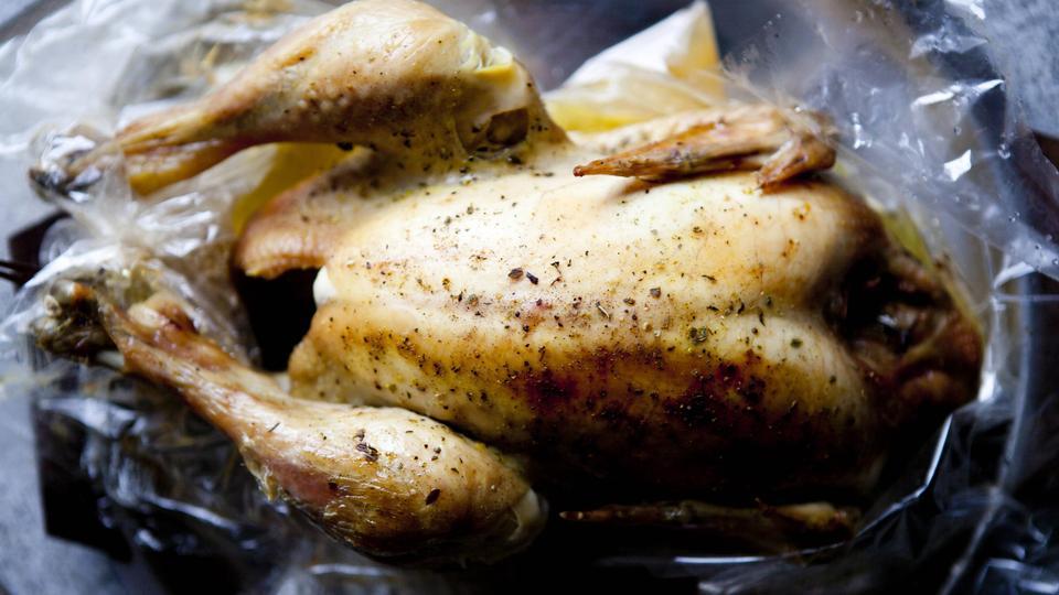 kylling i stegepose