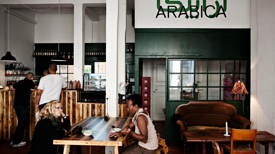 Madanmeldelse af Café Arabica fra politiken.dk