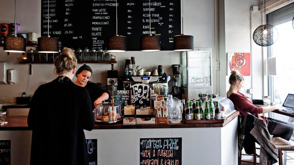 Madanmeldelse af Cortado kaffebar fra politiken.dk