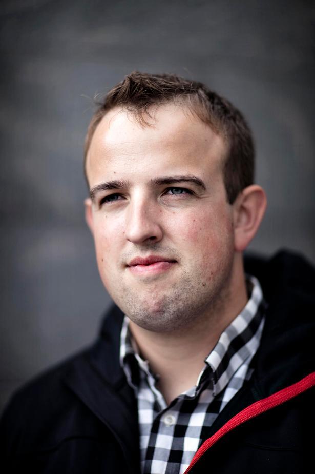 Udsendt. Nicolai Sørensen,  25 år under udsendelsen  i første halvår af 2010, sergent i Charliekompagniets 3. deling. Foto: Lærke Posselt