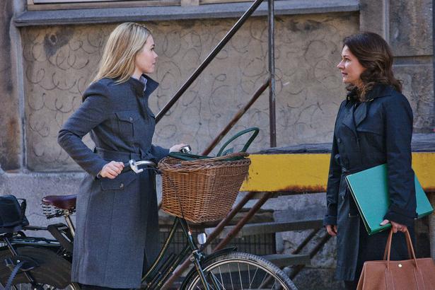 Rollemodeller. Magtfulde kvinder på cykler. Foto: Mike Kollöffel/DR