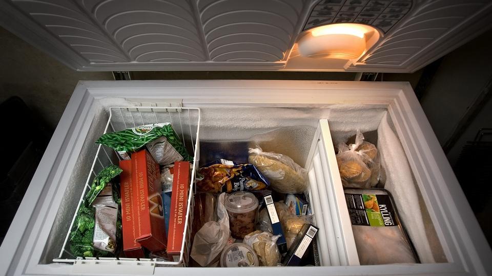 Hvor længe holder maden i fryseren