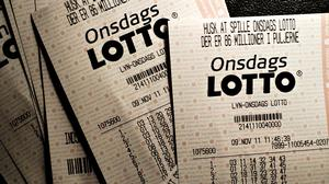 onsdags lotto tal