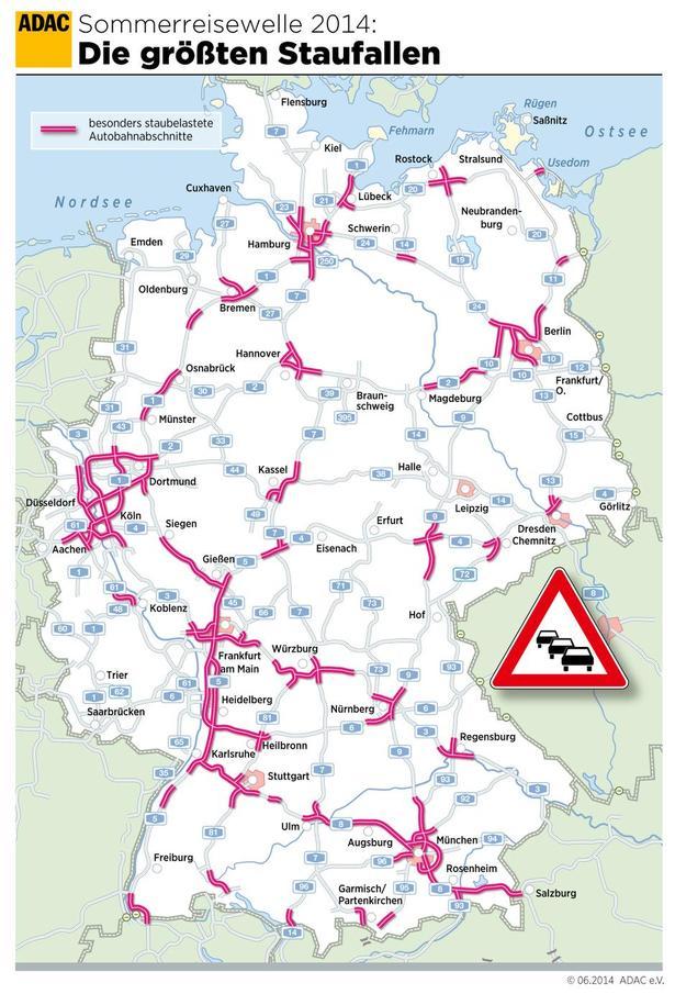 Raedselsweekend Venter Pa De Tyske Motorveje Politiken Dk