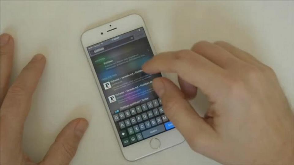 34e4a27140d Bay tester iPhone 6: Større og kraftigere. Men er den bedre? - politiken.dk