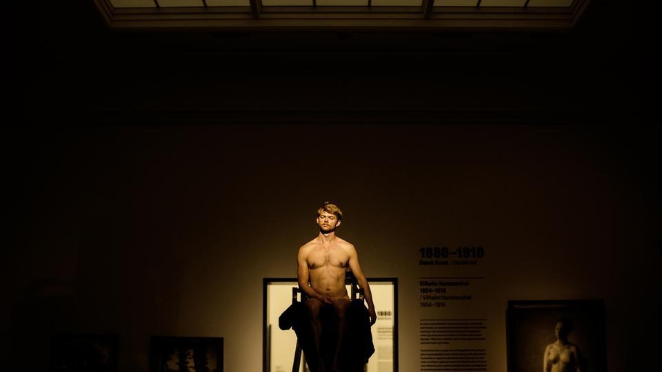 Fitness modeller udgør nøgen